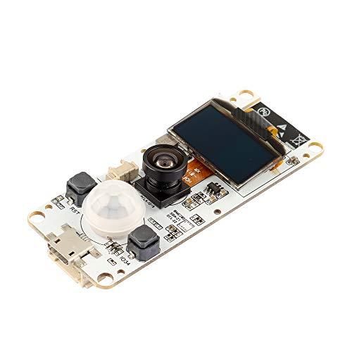 DesignSter ESP32 Camera Module, WROVER PSRAM Camera Module with OV2640 Camera and 0.96 Oled T-Camera Fish-eye Lens