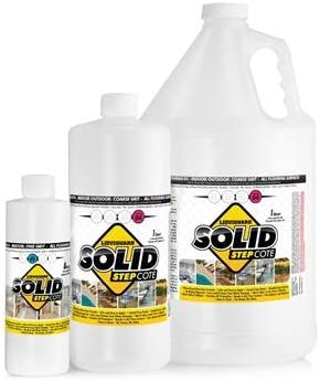 SolidStepCote 02 Professional Non Slip Floor Coating, Clear (1 g