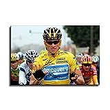 FINDEMO Lance Armstrong Radfahrer-Poster, dekoratives