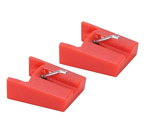 banpa Replacement Stylus Turntable Needle for ION ICT04RS - ION TTUSB, TTUSB10, ITTCD10, LPDock, LP2CD, LP2Flash, IProfile and Profile Flash (Pack of 2)