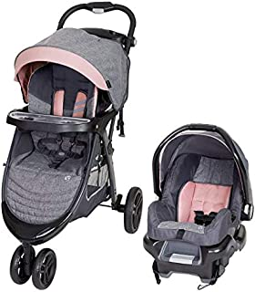 Baby Trend Skyline 35 Travel System - Stroller and car seat, Starlight Pink