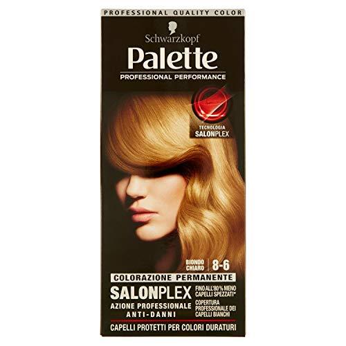 Haarfärbemittel 8-6 flachsblond