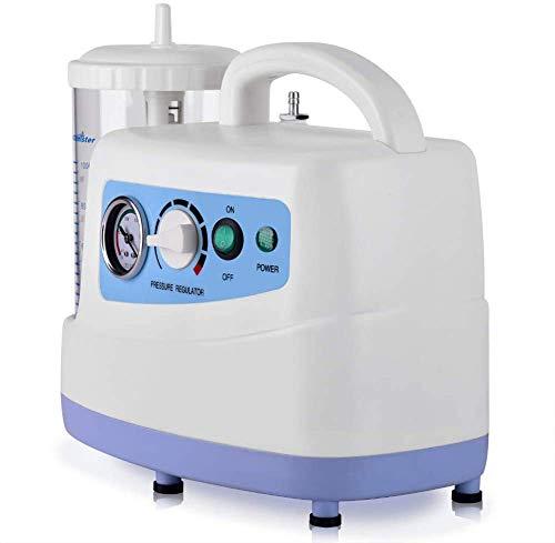 Portátil de la secreción de moco de la máquina, dispositivo eléctrico de esputo flema bomba de succión Unidad de medida y los esputos de sangre, adecuado para uso en quirófanos, salas de emerg