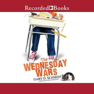 The Wednesday Wars audiobook cover art