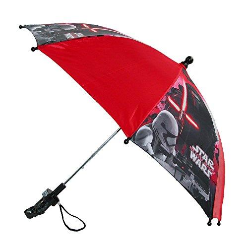 Disney Kids' Star Wars Stick Umbrella with Character Handle,...