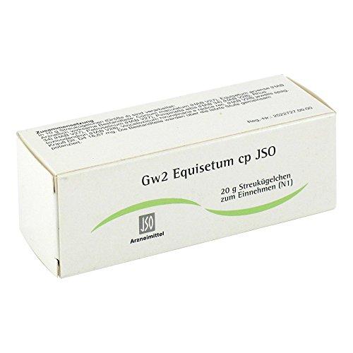 Gw2 Equisetum cp JSO Globuli, 20 g Globuli