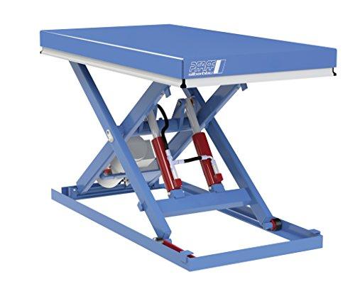 Hubtisch, Pfaff-silberblau, Tragkraft 1000 kg, Hub 1000 mm (1700 x 800 mm)