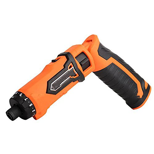 Cordless Drill, SHENGZHI Cordless Drill Set Screwdriver Swivel Handle USB Rechargeable High 21+1 Level Torque Adjustment LED Lights with Self-Locking Device