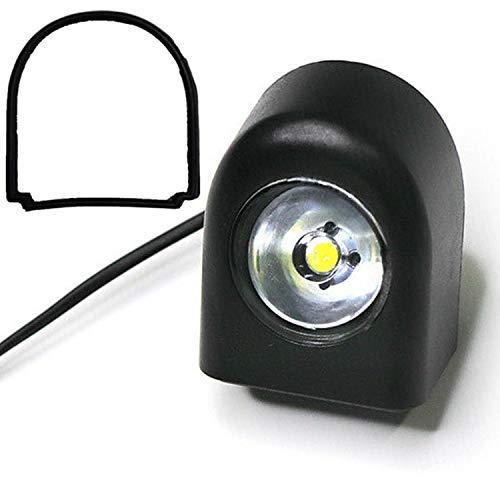 Vestigia® - Linterna de repuesto de luz delantera para Xiaomi M365 1S Essential Pro Scooter eléctrico - Piezas de repuesto para E-scooter