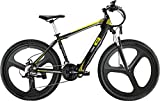 I-Bike, Mountain Mud Unisex adulto, Nero Bianco Giallo, Unica