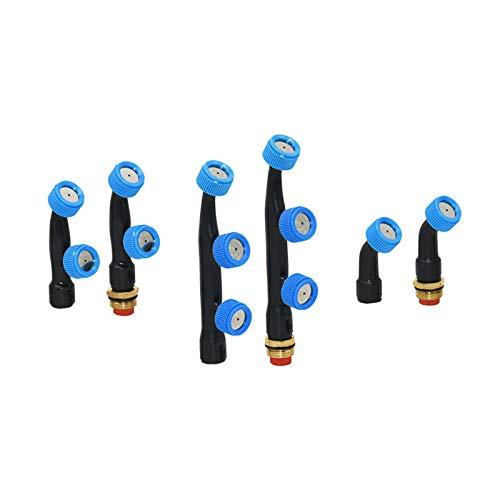 WWVAVA Agujero de pulverización de la boquilla de la refracción de jardín rociador cabeza de riego herramientas de jardinería 1 unidad, 1 agujero 1 x 1