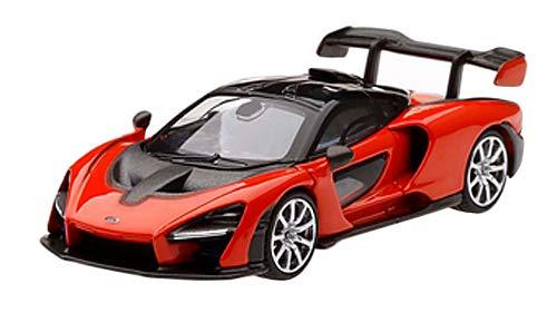 Mini GT MGT00018-R 1/64 Mclaren Senna Mira orange Rechtslenker
