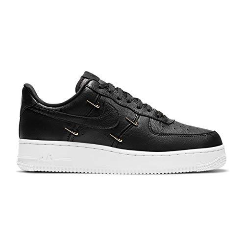 Nike Zapatos de Mujer Air Force 1 '07 LX Negro CT1990-001, (Negro/Dorado metálico/Hyper Royal/Negro), 40.5 EU