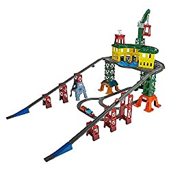 Multi-system train set for kids three years and up that works with thomas and friends adventures, track master, MINIS and wooden railway engines Comes with thomas and friends track master thomas and his friends thomas and friends adventures percy, th...