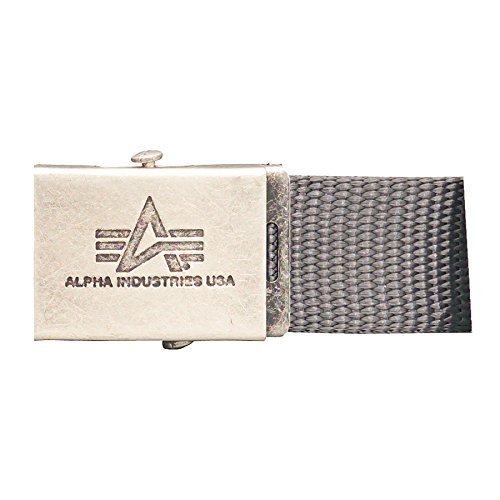 Alpha Industries Heavy Duty Gürtel Grau