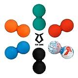 Zen Core Massage Duoball Original - Twinball Faszienrolle Lacrosseball Hartgummi