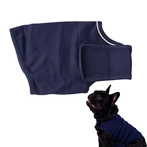 Tylu Hundejacke für Reisen und Trennung von Angstzuständen, Beruhigungsweste für Hunde, Anti-Angst-Shirt, Stressabbau, Kleidung für Hunde, hält ruhig, Donnerjacke, beruhigende Lösung für Feuerwerk