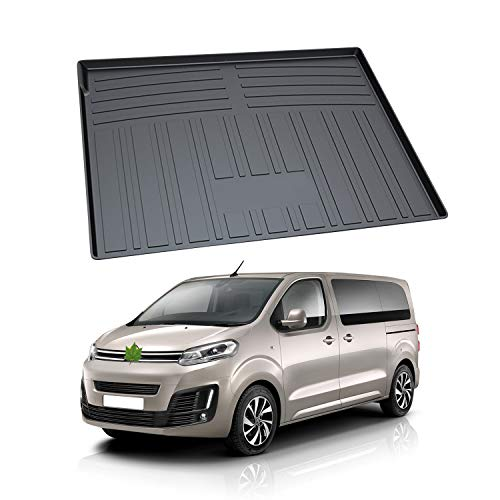 YEE PIN Trunk Mat for Citro e n Grand C4 Spacetourer 7 Seats 2014 Waterproof Trunk Cover Quilted Mat for Cars Trunk Protection Mat Loading Sill Protector