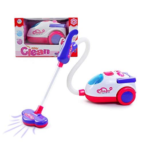 ATATMOUNT Mini aspirapolvere Elettrico Bambini con Funzione Reale Ricarica USB per Giocattoli educativi per Bambini