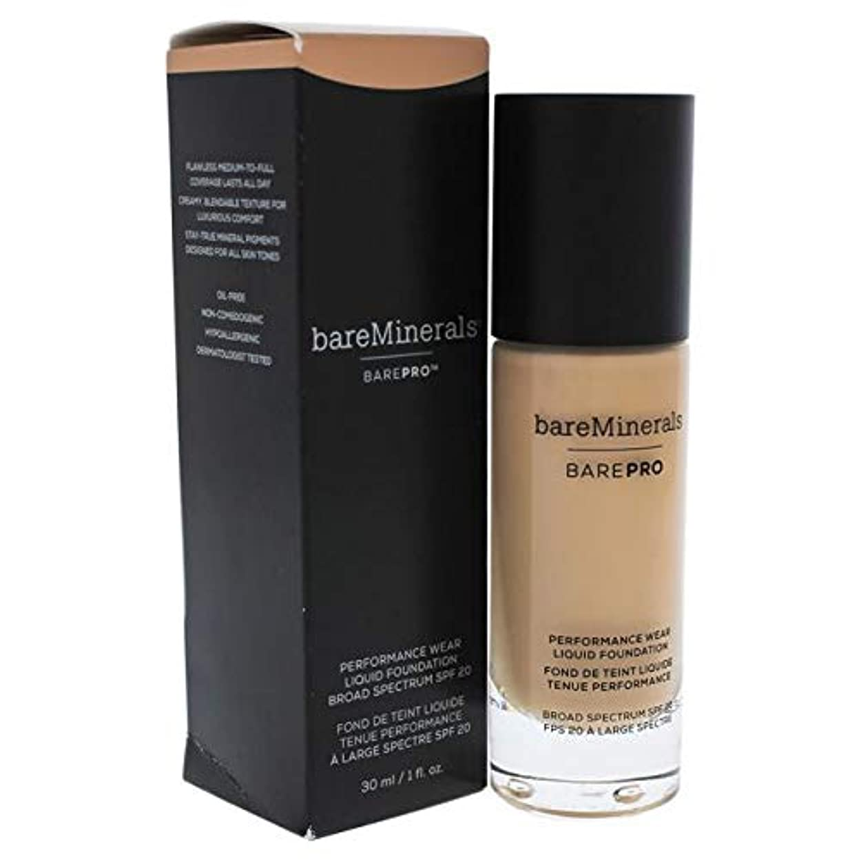 遺棄された君主懸念ベアミネラル BarePro Performance Wear Liquid Foundation SPF20 - # 10 Cool Beige 30ml/1oz並行輸入品