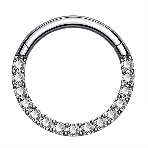 Titanium Cartilage Hoop Earring by Oufer