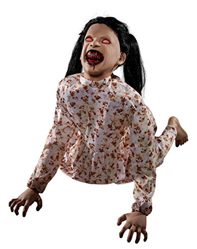 Spirit Halloween 2.2 Ft Bloodthirsty Betty Animatronic