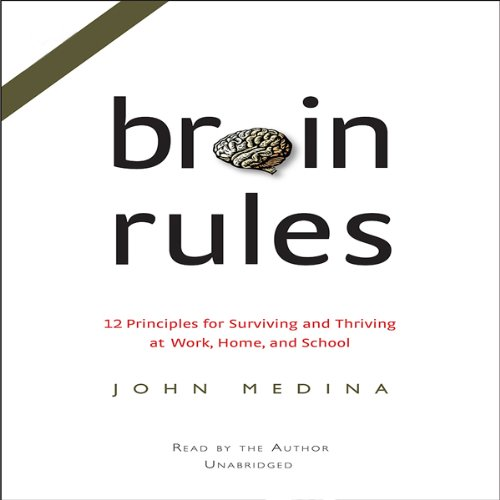 Brain Rules audiobook cover art