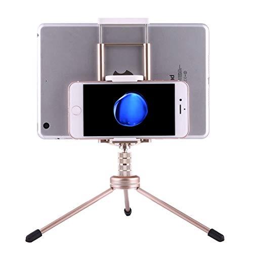 Soporte LYNQYGTablet Soporte de escritorio multi-función de aleación de aluminio Montaje de trípode del sostenedor del soporte, for el iPad, iPhone, Samsung, Lenovo, Sony y otros teléfonos inteligente