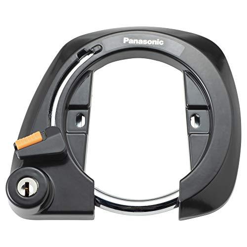 パナソニック(Panasonic) サークル錠 SAJ079 ブラック自転車