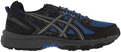 ASICS Mens Gel-Venture 6 Running Shoe, Victra Blue/Blue/Black, 11.5 D(M) US