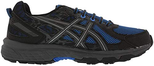 ASICS Mens Gel-Venture 6 Running Shoe, Victra Blue/Blue/Black, 10 D(M) US