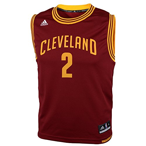 NBA Cleveland Cavaliers Kyrie Irving #2 Youth Replica Road Jersey, Red, Small