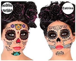 DISBACANAL Tatuajes Catrina: Amazon.es: Juguetes y juegos