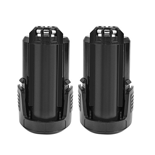Turpow 2 Pack 12V 3500mAh B812-03 B812-02 B812-01 Lithium-Ion Replacement Battery Compatible with Dremel 8200 8220 8300 Cordless Tools Lithium-ion Power Tool Battery Pack
