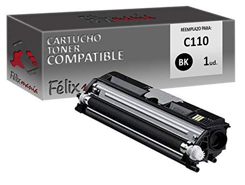 Toner Negro Compatible para Oki C110 BK TO546