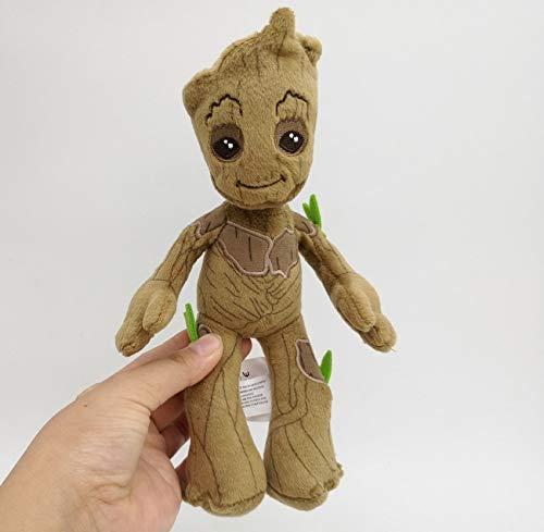 DOUFUZZ 22cm 1 STK Groot Guardians Galaxy Volume 2 gefüllte Plüsch Spielzeug Baby Baum Mann Stuff Puppe Kinder Weihnachts-Geburtstags-Geschenke