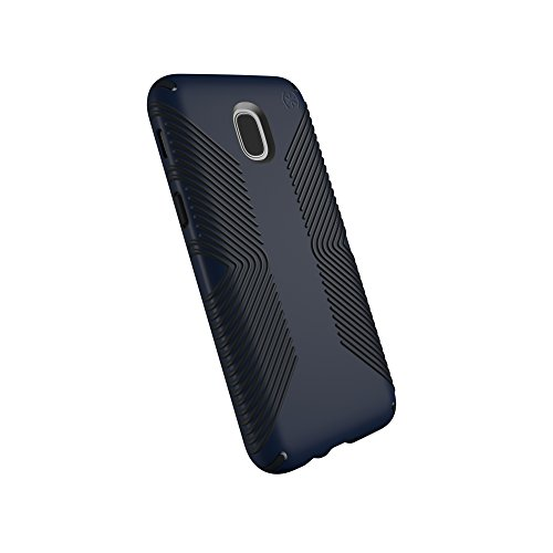 Speck Products Compatible Phone Case for Samsung Galaxy J7 (fits Verizon J7 V 2nd Gen; T-Mobile J7 Star), Presidio Grip Case, Eclipse Blue/Carbon Black