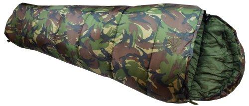 Highlander Cadet 350 - Saco de dormir infantil, diseño de camuflaje