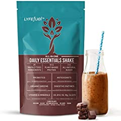 ✅ENERGY-ENHANCING complete meal replacement powder that will keep you full for hours. ✅PLANT-BASED WHOLE FOODS expertly combined to provide all the essential nutrients you need daily. ✅ SAVE MONEY on supplements with the most complete superfood shake...