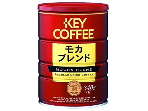KEYコー モカブレンド 缶 20g増量品 360g [3821]