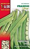 Franchi sementi semi di fagioli e fagiolini nani e rampicanti in confezioni varie (nano cannellino, 100 grammi)