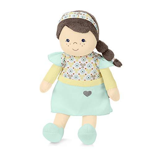 Sterntaler 3031811 Anziehpuppe Hanna, Mit Klettverschluss, Alter: Für Babys ab der Geburt, 33 cm, Blau