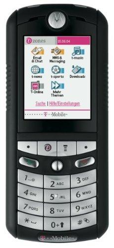 Motorola E398 Schwarz-Silber T-Mobile