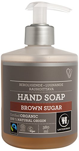Urtekram Brown Sugar flüssige Handseife Bio, beruhigend, 380 ml
