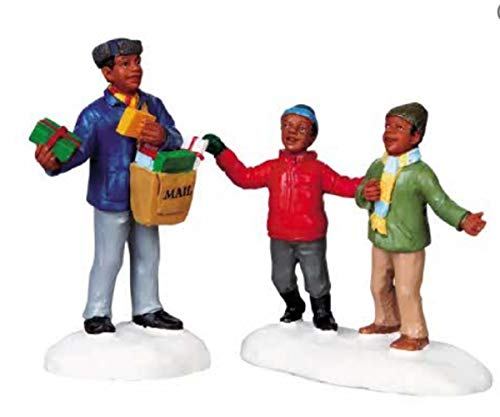 Lemax Coventry Cove Figurine - Special Delivery (Set of 2)
