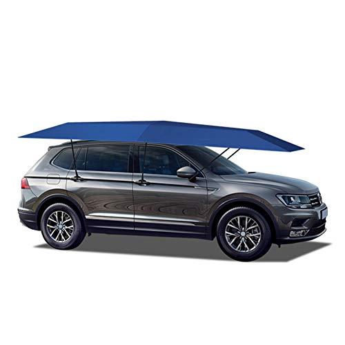 WYW Car Cover 4.5X2.3M Portable Outdoor Car Tent Umbrella Roof Cover UV Protection Kits Car Cover Umbrella Sun Shade