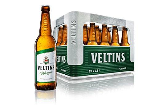 Veltins Pilsener - Bier aus dem Sauerland - 5 x 0,5 Liter inkl. Pfand MEHRWEG