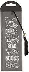 Idea Regalo - Peter Pauper Coffee & Books Beaded Bookmark