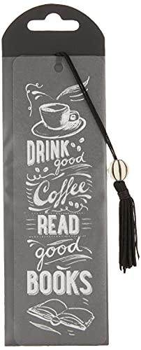Peter Pauper Coffee & Books Beaded Bookmark