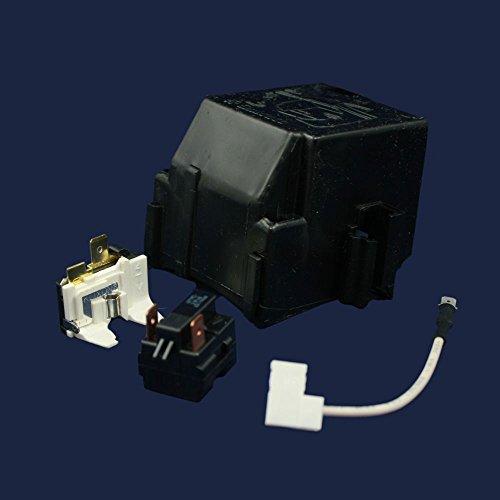 Whirlpool 12002782 Refrigerator Compressor Overload and Start Relay Genuine Original Equipment Manufacturer (OEM) Part